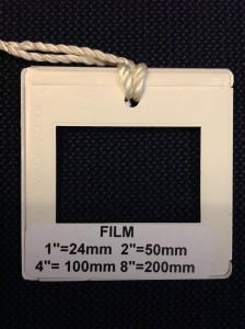 Film Full Frame 35MM Aspect Ratio